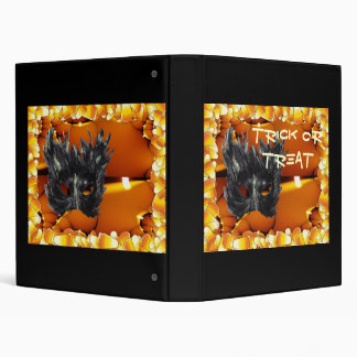 Gothic Mask Trick or Treat Binder
