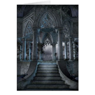 Gothic Mausoleum Note Card