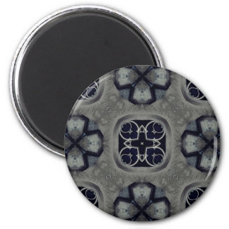 Gothic medieval detailed pattern magnet