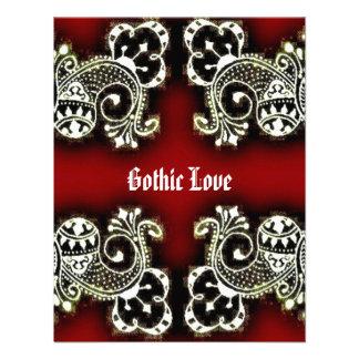 Gothic Mehndi Invitations
