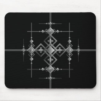Gothic metallic pattern. mouse pad