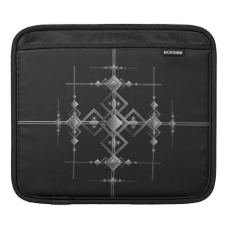 Gothic metallic pattern. sleeves for iPads