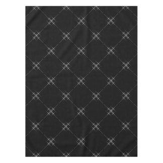 Gothic metallic pattern. tablecloth