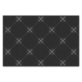 Gothic metallic pattern. tissue paper