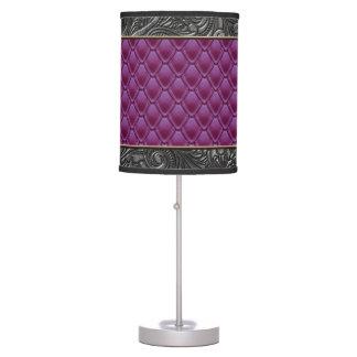 Gothic Midnight Fuschia Table Lamp