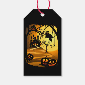Gothic Night Fantasy Pack Of Gift Tags