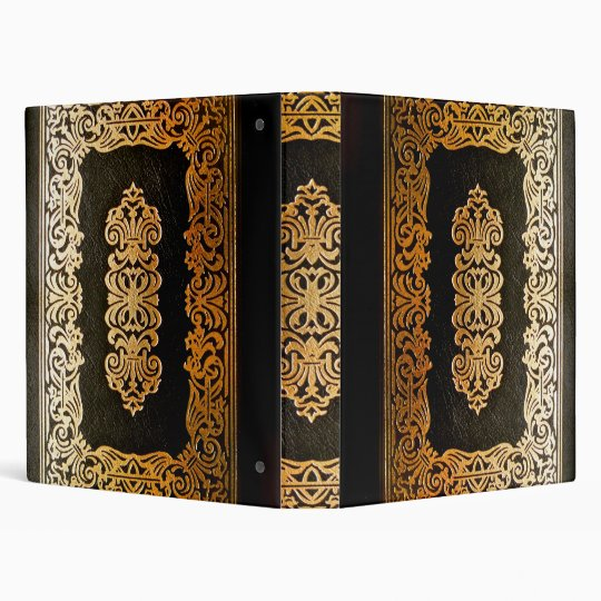 Gothic Old Leather Book Binder