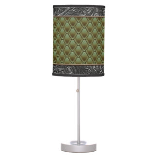 Gothic Olive Table Lamp