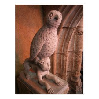 Gothic Owl Postcard