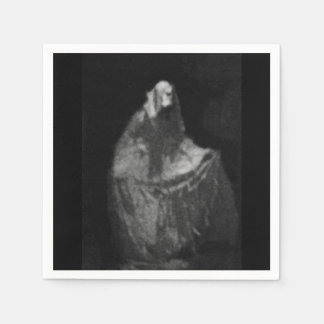 Gothic phantom napkin