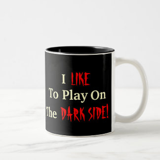 Gothic Playtime Two-Tone Coffee Mug
