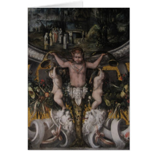 Gothic Pose ~ Greeting & Note Card