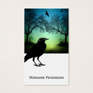 Gothic Raven Profile Card