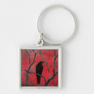 Gothic Red Keychain