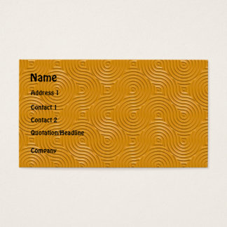 gothic rings repeating template business card