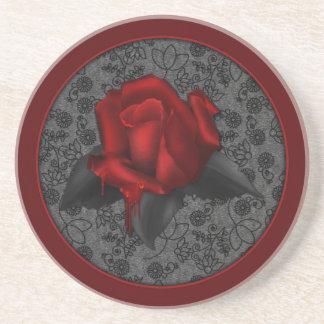 Gothic Rose Beverage Coaster