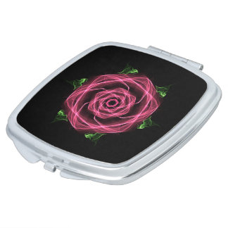 Gothic Rose Compact Vanity Mirrors