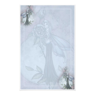 Gothic Rose Fairy Stationary by Molly Harrison Stationery