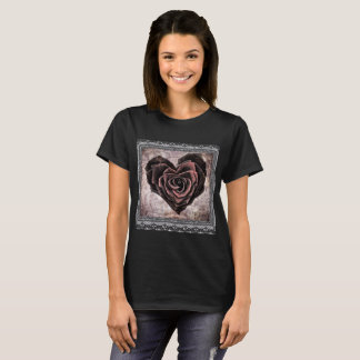 Gothic Rose Valentine T-shirt