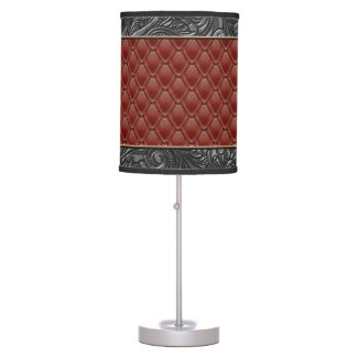 Gothic Ruby Table Lamp