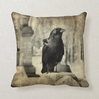 Gothic Scenes Throw Pillow