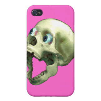 Gothic Screaming Skull II Freaky  Case For iPhone 4