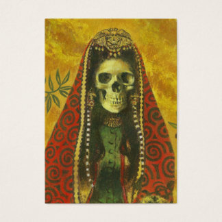 Gothic Skeleton Witch ACeO Artists Trading Cards