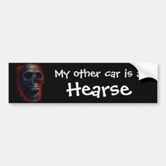 Gothic Skull Bumper Sticker