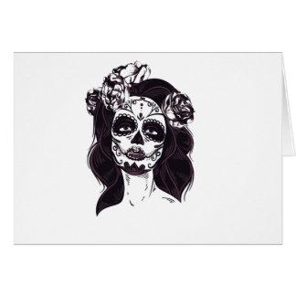 Gothic Skull Card