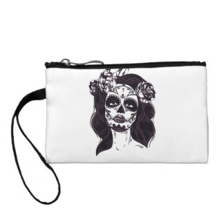 Gothic Skull Coin Purse