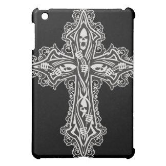 Gothic Skull Cross iPad Mini Covers