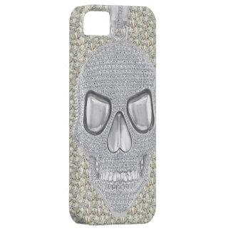 Gothic Skull Diamonds Print iPhone 5 Case