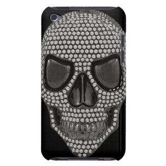 Gothic Skull Diamonds Print iPod Touch Case