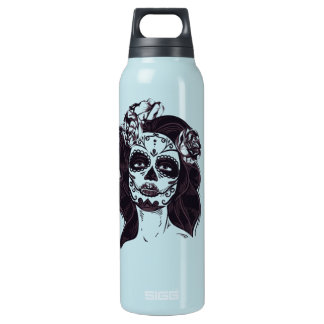 Gothic Skull Insulated Water Bottle