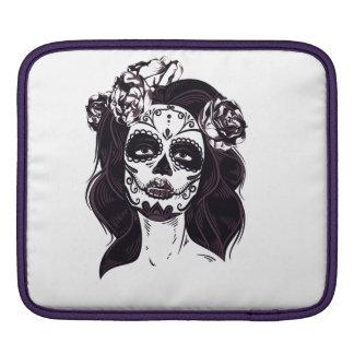 Gothic Skull iPad Sleeve
