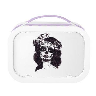 Gothic Skull Lunch Box