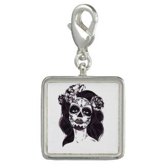 Gothic Skull Photo Charms