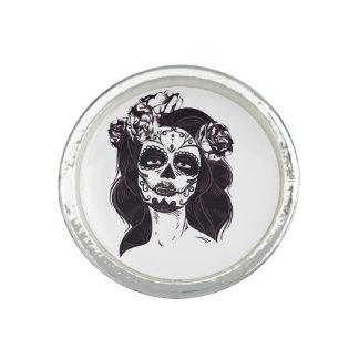 Gothic Skull Photo Rings