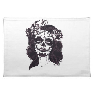 Gothic Skull Placemat
