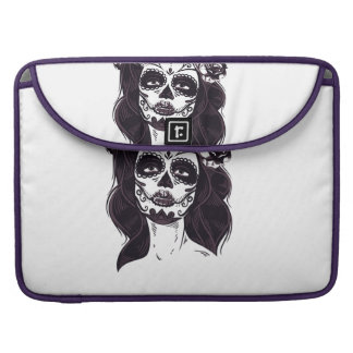 Gothic Skull Sleeve For MacBooks