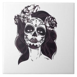 Gothic Skull Tile