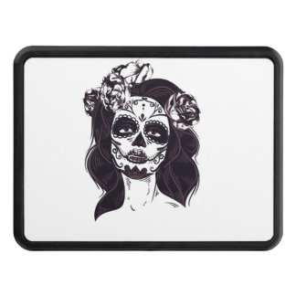 Gothic Skull Trailer Hitch Cover