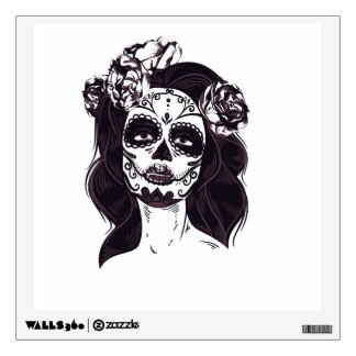 Gothic Skull Wall Decal