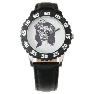 Gothic Skull Watch
