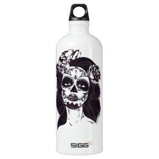 Gothic Skull Water Bottle