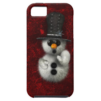 Gothic Snowman iPhone Case