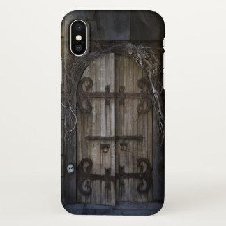 Gothic Spooky Door Zazzle iPhone X Case