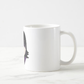 Gothic Spy Woman In Purple Coffee Mug