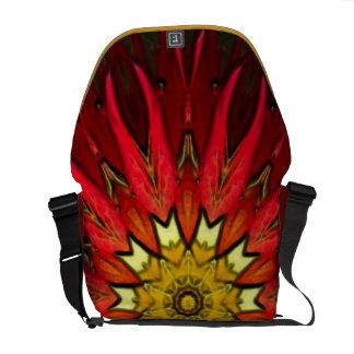 Gothic Stain Glass Digital Art Messenger's Bag Messenger Bag