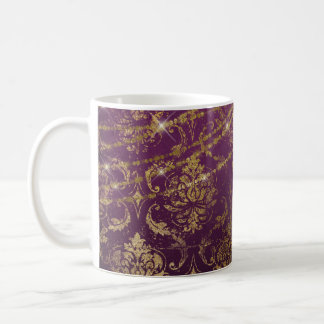Gothic Starry Purple Drink Mug
